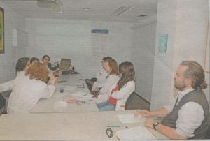 Clinical Session in the Oncology Department of Son Llatzer Hospital - taken from Diario de Mallorca 3 02 2013